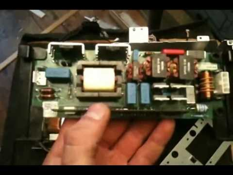 Projector Lamp Control Board Bypass 5 Pin W Schematic