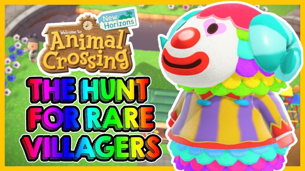 Searching For Amazing RARE VILLAGERS in Animal Crossing ...