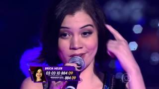 Brícia Helen canta