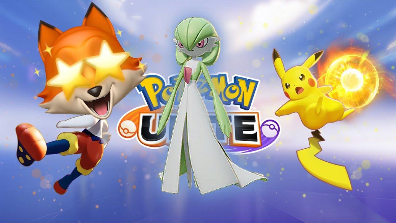 MY FIRST RANKED BATTLE + GARDEVOIR!   POKÉMON UNITE [New Pokemon MOBA Game]