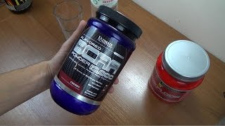 Аминокислоты Ultimate Nutrition BCAA Powder 12,000 iHERB
