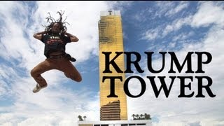 "GRICHKA ""KRUMP TOWER"" in Las Vegas RAF CREW & MADROOTZ 