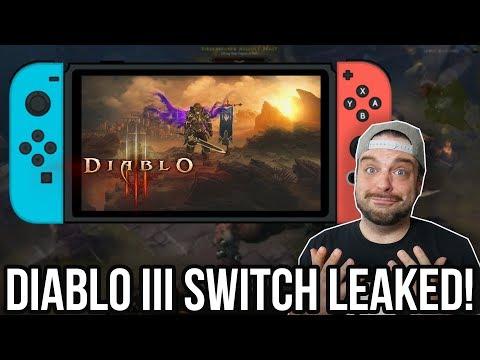 DIABLO 3 LEAKED For Nintendo Switch with ZELDA STUFF!   RGT 85