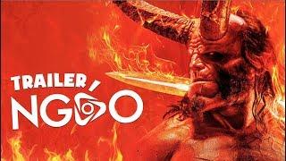 Trailer Ngáo - HellBoy - Chuyện Tình Đẫm Máu Nhất 2019