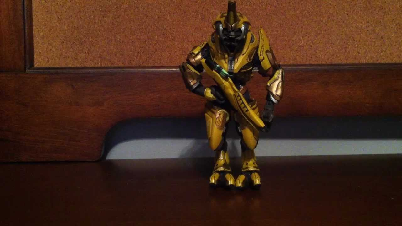 Halo Reach Series 4 - Elite General Action Figure Review ...
