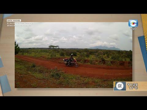 Gustavo Falero: Atravesó el continente africano en su moto