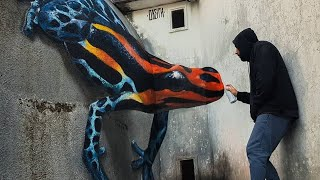 इसे देखके दुनिया हैरान हो गयी 15 amazing street art that is at another level,talented people
