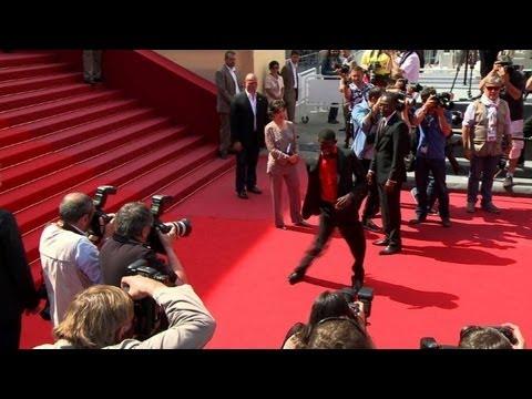 """Cannes: """"Grigris"""" s'offre un pas de danse sur le tapis rouge"""