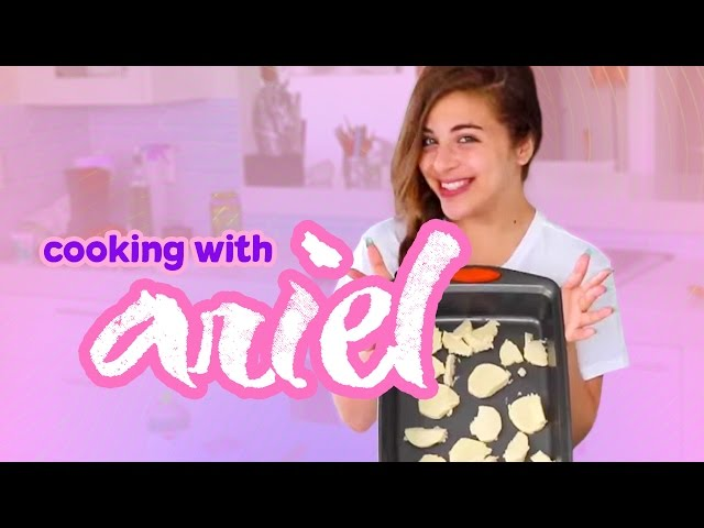 COOKING WITH ARIEL | Baby Ariel