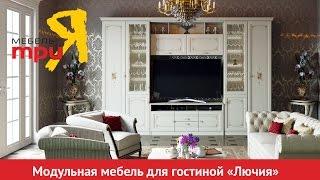 «Лючия» модульный набор мебели для гостиной(подробности на http://www.triya.ru., 2016-06-22T12:34:15.000Z)