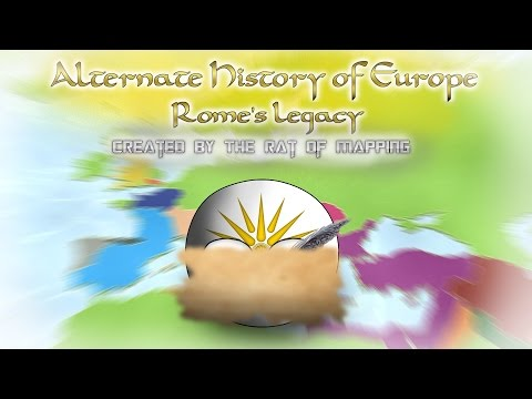 Alternate History of Europe in Countryballs (Rome
