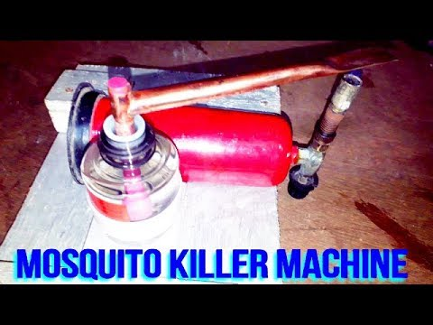 How to make Non Electric mosquito killer machine at home