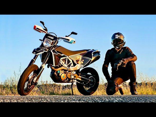 J'AI TUNÉ MA MOTO (Full Carbon) - Motovlog
