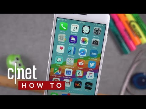 848cd5c13328 Speed up iOS 11 on older iPhones (CNET How To) - YouTube