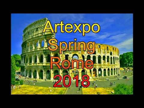 Artexpo Spring Rome 2018 presentazione artisti