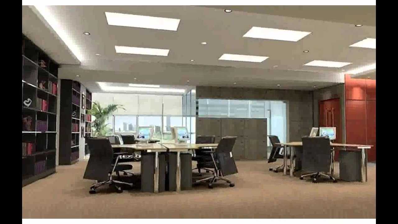 False Ceiling Design For Office Reception | Taraba Home Review