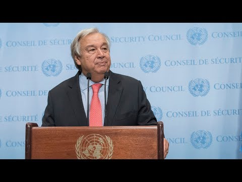 UN Secretary-General on the nomination of the new High Commissioner for Human Rights
