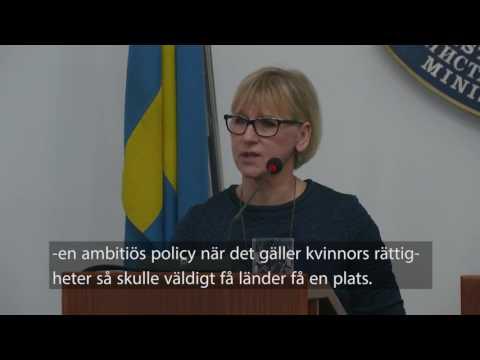 """Wallström: Saudi Arabia """"can learn about women"""" on U.N. Women's Rights Commission"""""""