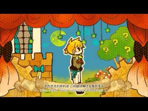 [Kagamine Len and Rin] A Gem, A Riddle, A Princess[SUB INDO]