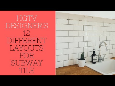 Watch THIS Video Before Installing Subway Tile - 12 Different Pattern Layouts