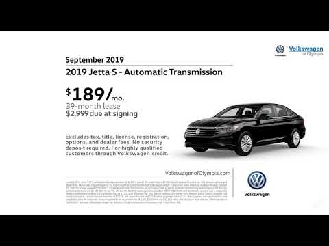 2019 Volkswagen Jetta S Automatic Transmission Offer Volkswagen of Olympia September SP