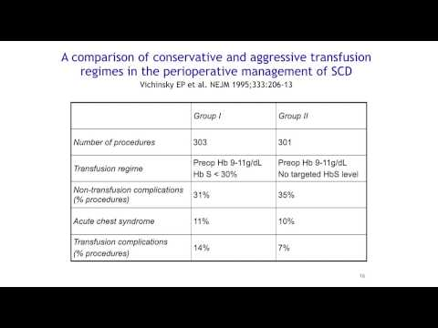 Dr. Phillip Kasirye - Transfusion in Sickle Cell Disease