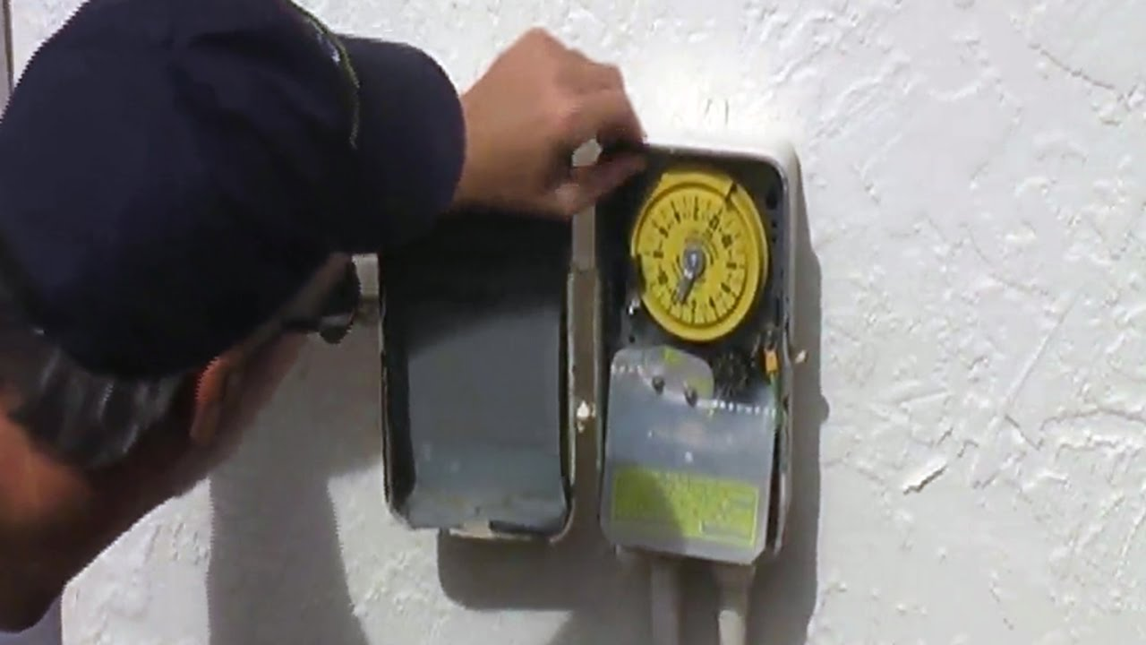 intermatic sprinkler timer motor repair replacement youtube