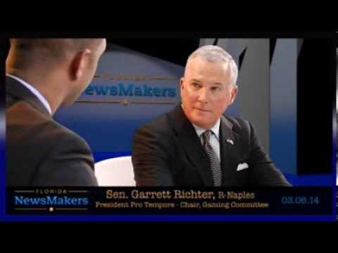 Florida NewsMakers, Senate President Pro Tempore Garrett Richter