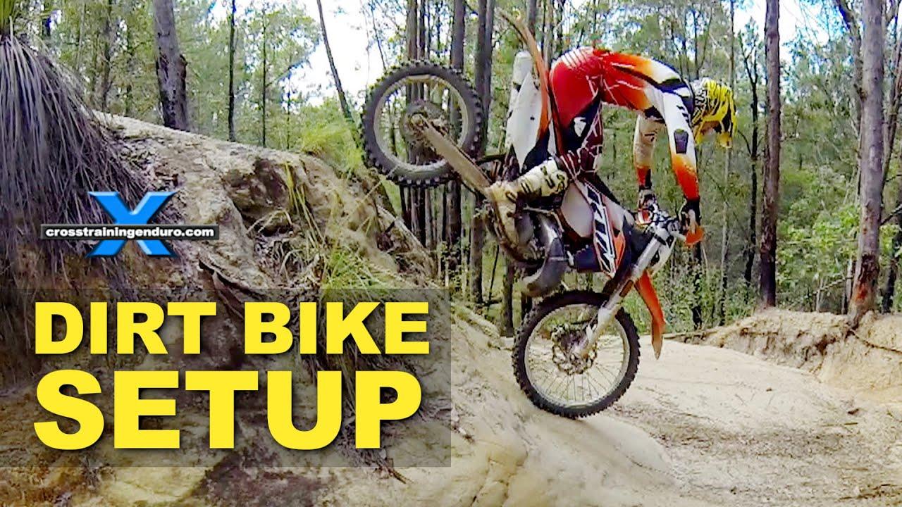 Dirt Bike Setup For Endurocross Amp Enduro Cross Training