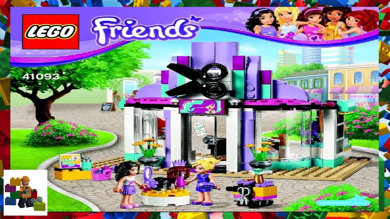 Lego Friends Hair Salon Instructions Gallery Form 1040 Instructions