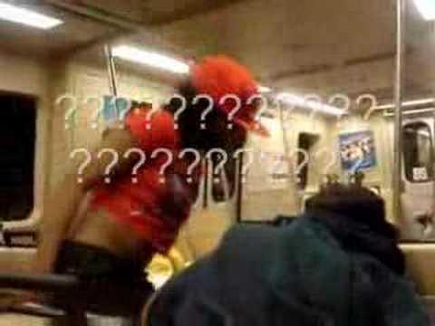*ORIGINAL* CRANK DAT SOULJA GIRL REMIX ON MARTA TRAIN