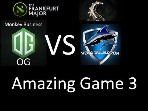 Dota 2 - Vega vs OG (Monkey Business) Frankfurt Major 2015 Game 3 Highlights