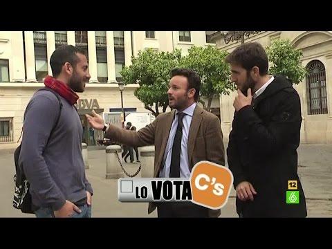 Lo vota o no lo vota, el juego de Gonzo sobre las elecciones de Andalucía