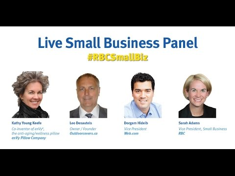 #RBCSmallBiz Live Panel Discussion - Getting Your Business Online - February 10, 2016