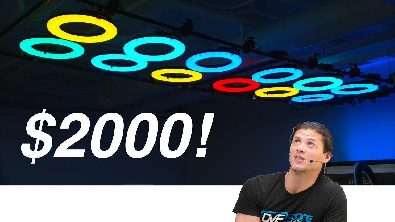 Building a $2000 Video Lighting Setup (Ring light MADNESS!)
