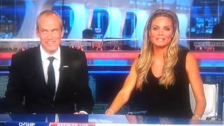 Sky Sports News presenter Charlotte slips up!