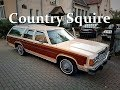 1982 Ford LTD Crown Victoria Country Squire Griswold car walkaround & ride  / Sopot 3.10.2017