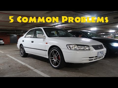 5 Common problems I have with my Toyota Camry (97-01)