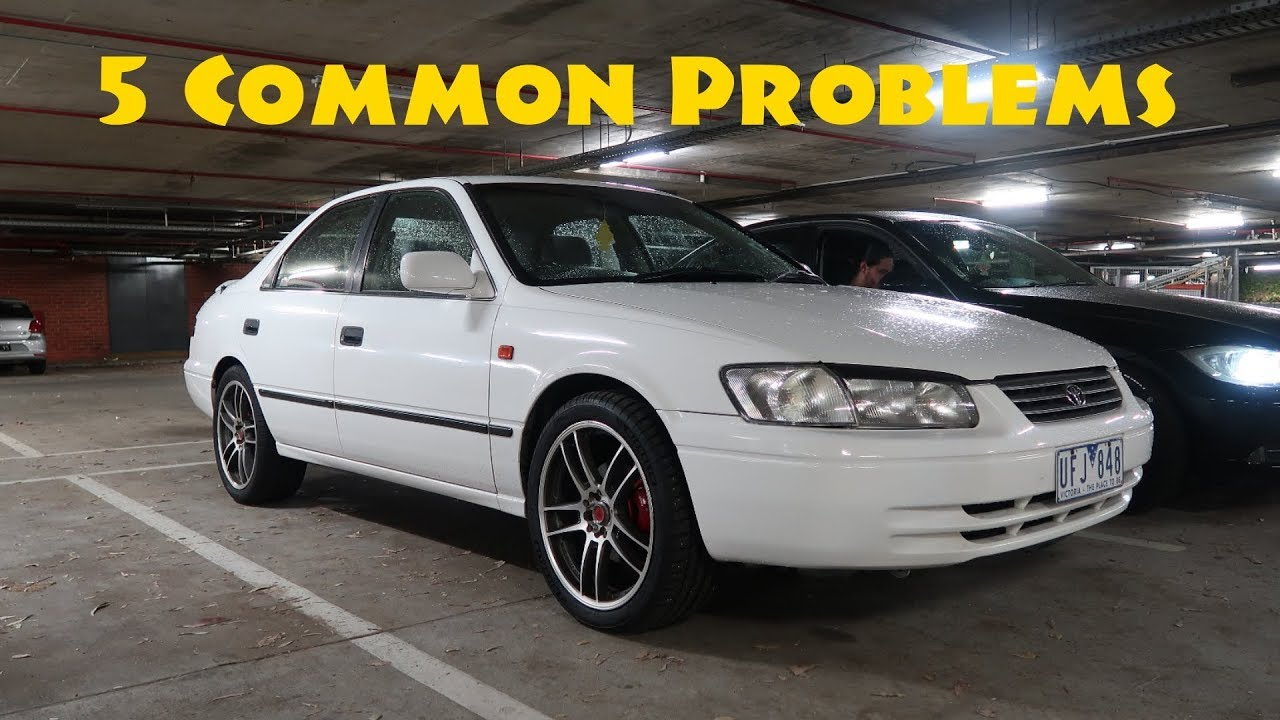 5 Common Problems I Have With My Toyota Camry 97 01