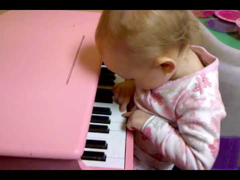 Ada playing piano
