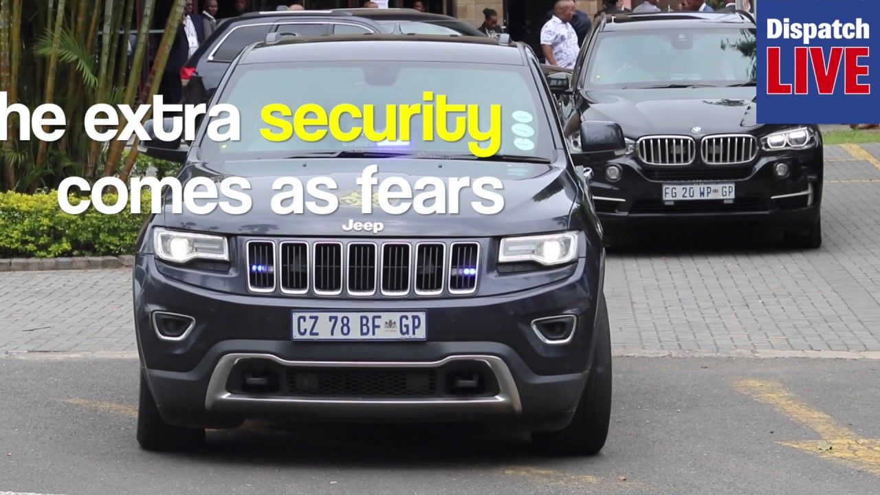 WATCH: President Jacob Zuma's security beefed up #1