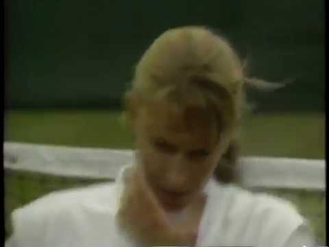 1990 Wimbledon Semifinal Graf vs Garrison  (2/2)
