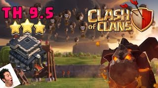 TH9.5 (3 STARRED) SHATTERED GO LALOON AND TETRA LALOON- CLASH OF CLANS 2017 3 STAR ATTACKS