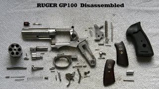 RUGER GP100  Disassembly