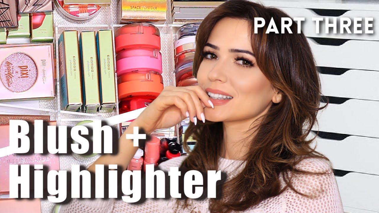 Decluttering Makeup Collection | Part Three | Blush | Bronzer | Highlighter