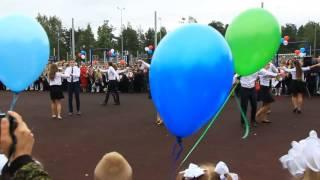 Анна Кирсанова Вальс старшеклассников линейка 1 сентября 2016 г
