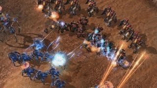 StarCraft II: Heart of the Swarm - Multiplayer Unit Update