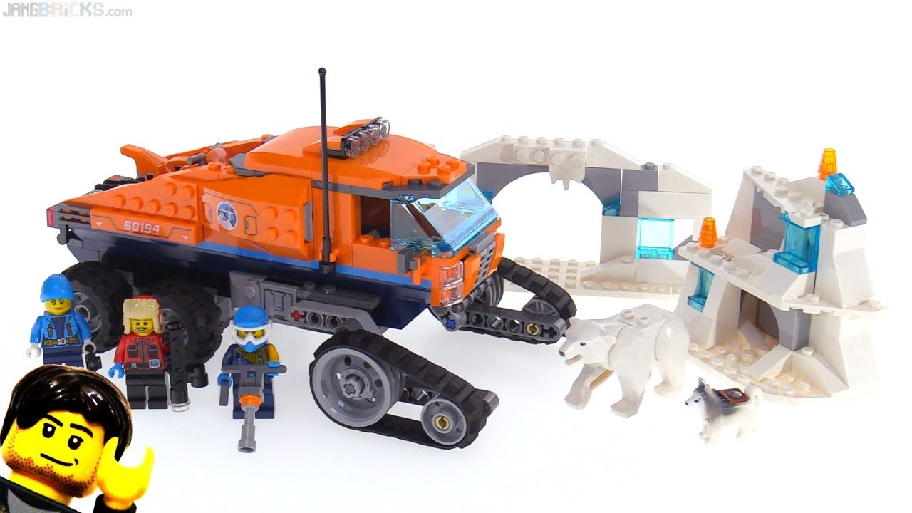 Toy Arctic Scout Truck 60194 Brick LEGO® City New Toy