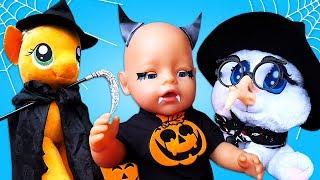 Vidéo drôle pour enfants. Bonne fête de Halloween