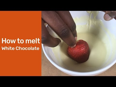 How To Melt White Chocolate : How To Melt Chocolate Chips